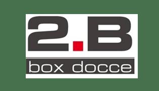 Logo aziendale di 2B produttore di vasche, docce, rubinetterie e articoli bagno