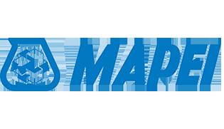 Logo aziendale di Mapei produttore di materiali edili