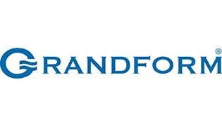 Logo aziendale di Grandform produttore di vasche, docce, rubinetterie e articoli bagno